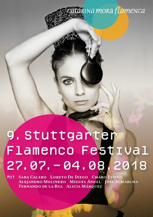 Cover 9. Stuttgarter Flamenco festival 2018